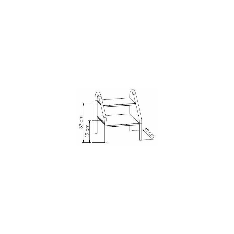 marche pied inox. Black Bedroom Furniture Sets. Home Design Ideas