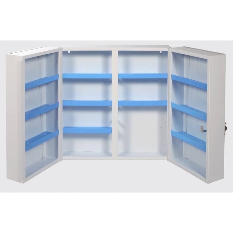 armoire pharmacie m tal 530x190x530mm. Black Bedroom Furniture Sets. Home Design Ideas