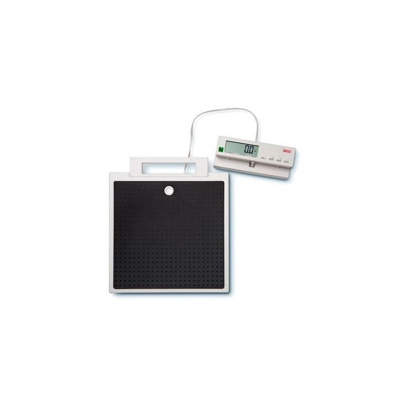 Pèse-personne plat à module d'affichage télécommandé par câble Seca 899