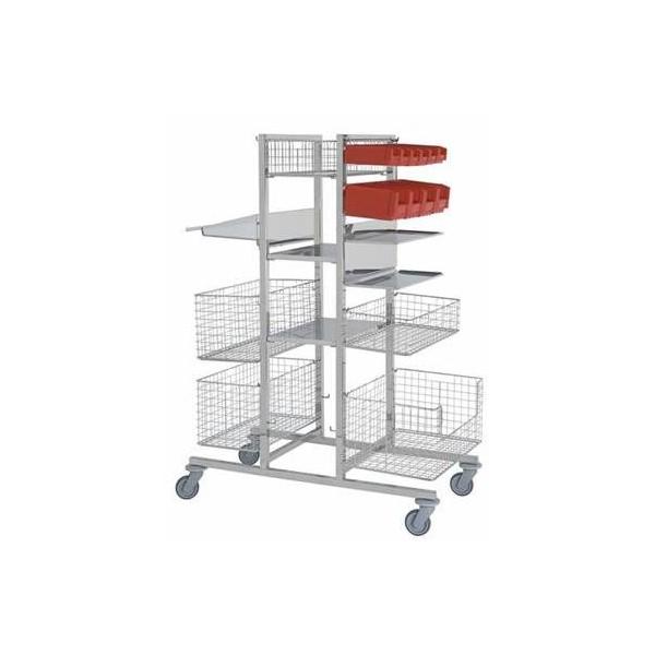 Etag re centrale pour chariot modulaire de bloc op ratoire - Bloc etagere modulable ...