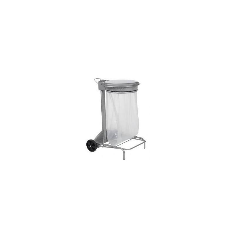poubelle mobile p dale 50 litres. Black Bedroom Furniture Sets. Home Design Ideas