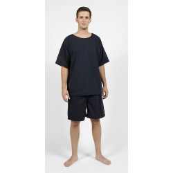 T-shirt + bermuda Anti-Déchirure coloris bleu amiral
