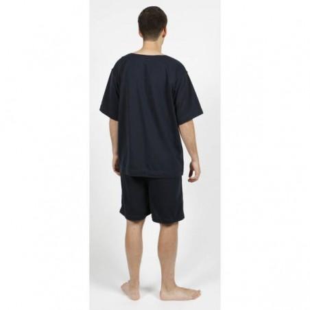 T-shirt indéchirable coloris bleu amiral