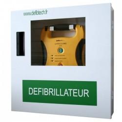 Boîtier mural avec alarme Defibtech