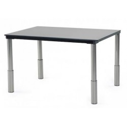 Table réglable en hauteur 4 places