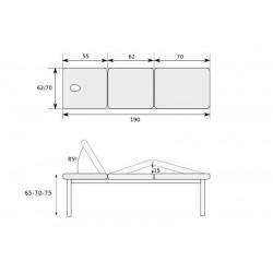 Table divan 3 plans
