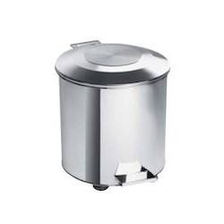 Collecteur à déchets inox 40 litres