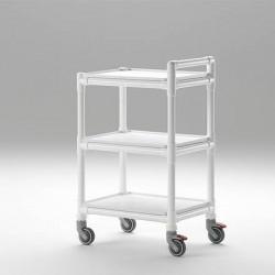 Chariot médical 3 étagères