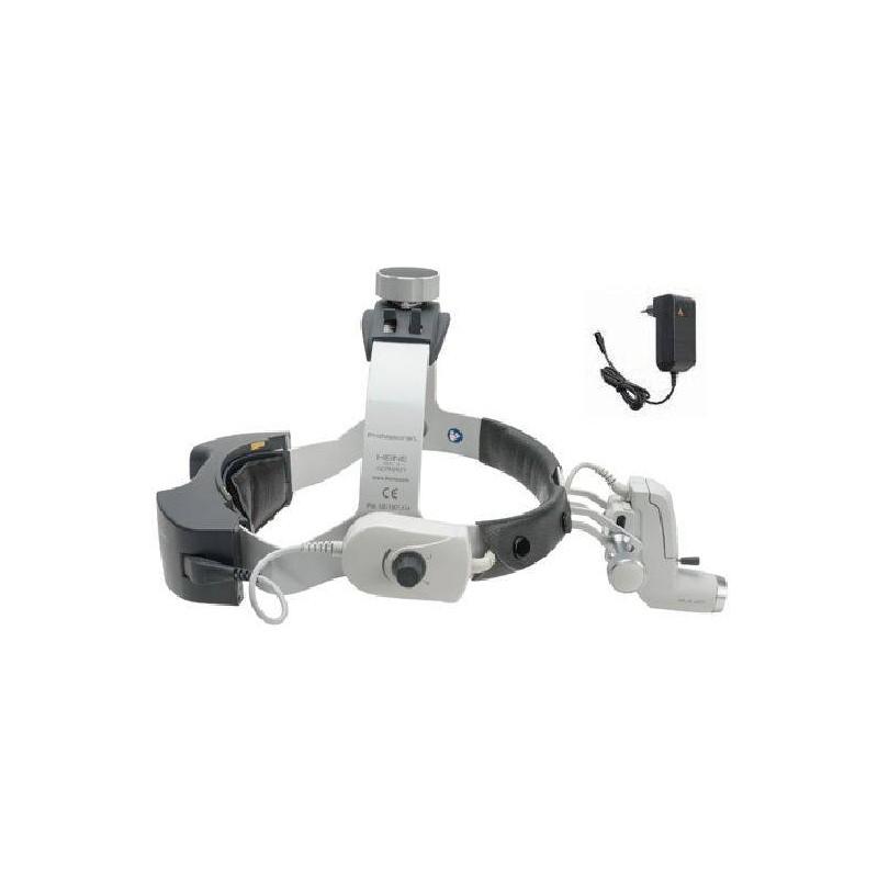 ML4 LED HeadLight avec mPack UNPLUGGED et transformateur à fiche UNPLUGGED Heine