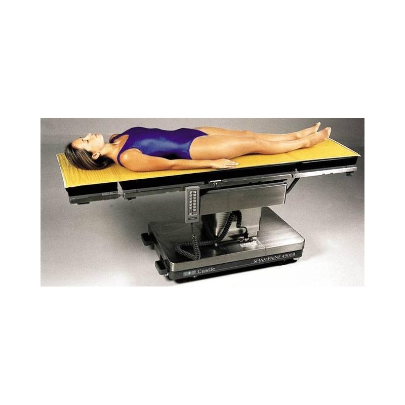 Protection en gel 183 x 51 x 1,3 cm pour table d'opération