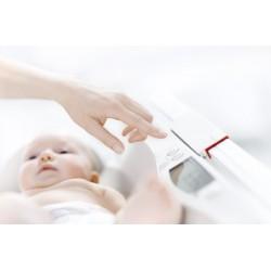 Pèse-bébé sans fil à plateau particulièrement spacieux Seca 376