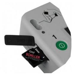 Carte mémoire SD pour défibrillateur de poche Fred EasyPort Schiller