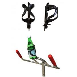 Option Porte bouteille spring en résine thermoplastique - Aquabike