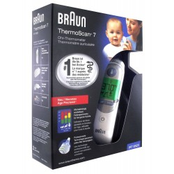 Thermomètre auriculaire infrarouge Braun ThermoScan 7 IRT 6520