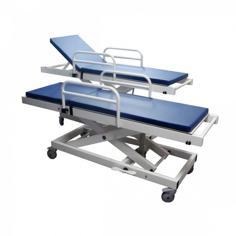 Brancard amagnétique hauteur variable IRM