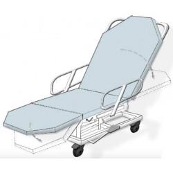 Combiné fauteuil / brancard amagnétique