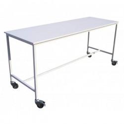 Table bois mélaminé 1 niveau