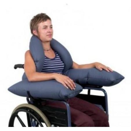 Coussin hémiplégie pour fauteuil roulant
