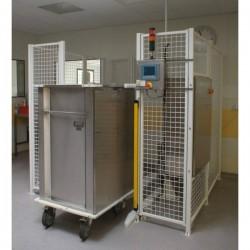 Chariot pour les systèmes AGV