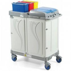 Chariot amagnétique IRM