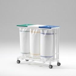 Collecteurs à 3 porte-sacs