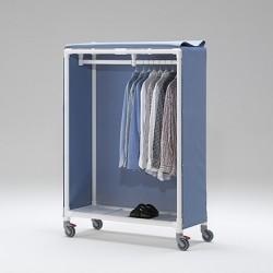 Chariot de transport idéal pour vêtements suspendus