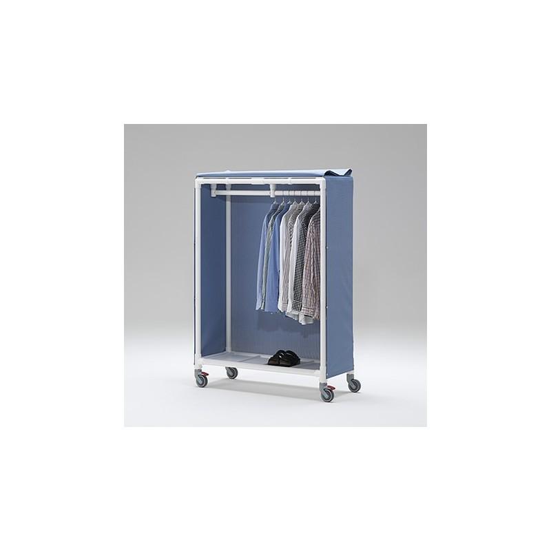 chariot de transport id al pour v tements suspendus. Black Bedroom Furniture Sets. Home Design Ideas