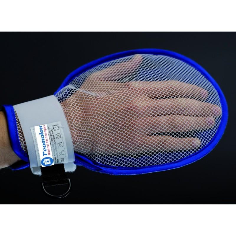 Moufle de protection rigide avec filet d'aération