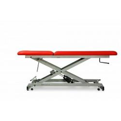 Table d'examen électrique avec roulettes rétractables Mobercas