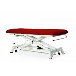 Table d'examen électrique avec roues rétractables Mobercas