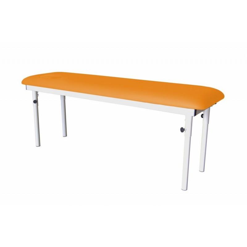 Table divan avec pieds fixes et démontables en 3 hauteurs