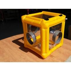 Boîte à gants et isolateur