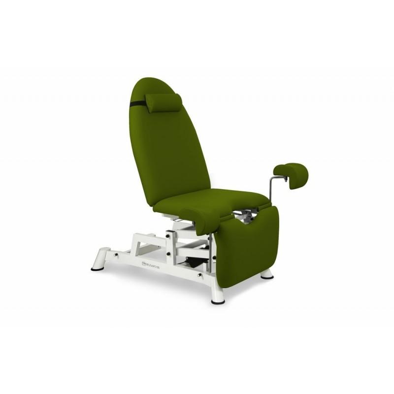 Fauteuil d 39 examen gyn cologique lectrique mobercas for Divan fauteuil