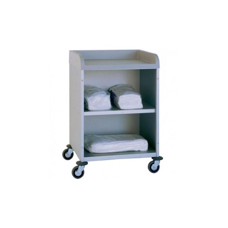 chariot linge 2 niveaux. Black Bedroom Furniture Sets. Home Design Ideas