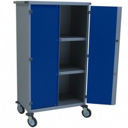Armoire mobile de distribution du linge propre