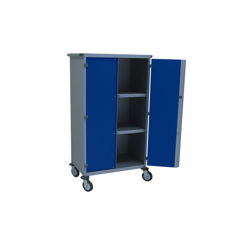 armoire mobile de distribution du linge propre. Black Bedroom Furniture Sets. Home Design Ideas