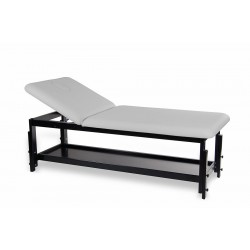 Table de massage en bois hauteur variable