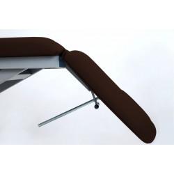 Table d'examen électrique proclive/declive avec roulettes rétractables