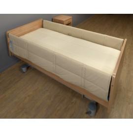 Paire de Protection barrières de lit