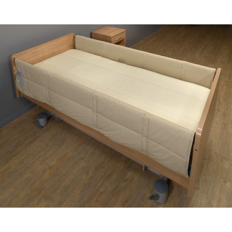 paire de protection barri res de lit. Black Bedroom Furniture Sets. Home Design Ideas