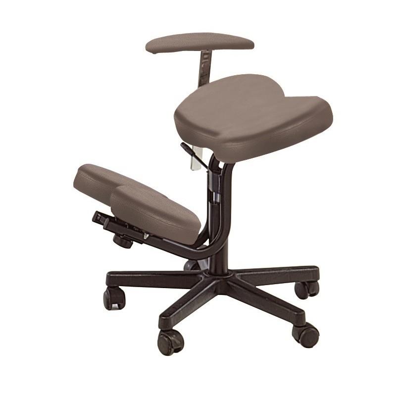 tabouret assis genoux accoudoir r glable. Black Bedroom Furniture Sets. Home Design Ideas
