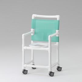 Chaise de douche et toilettes avec lunette ergonomique