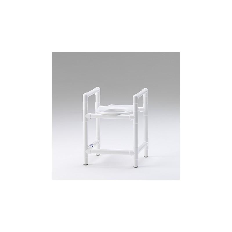 tabouret de douche et de toilette avec ouverture. Black Bedroom Furniture Sets. Home Design Ideas