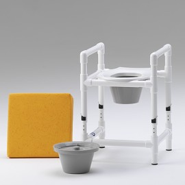 Rehausse de toilette tabouret de douche et chaise de nuit