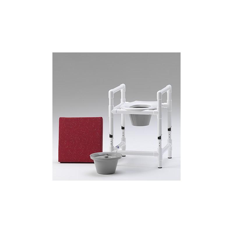 rehausse de toilette tabouret de douche et chaise de nuit. Black Bedroom Furniture Sets. Home Design Ideas