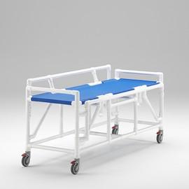 Chariot douche IRM amagnétique