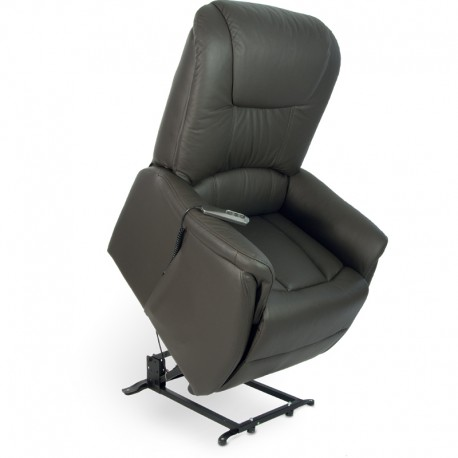 fauteuil releveur relax cuir 2 moteurs. Black Bedroom Furniture Sets. Home Design Ideas