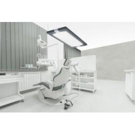 Plafonnier lumière du jour Soleno avec télécommande pour double illuminant