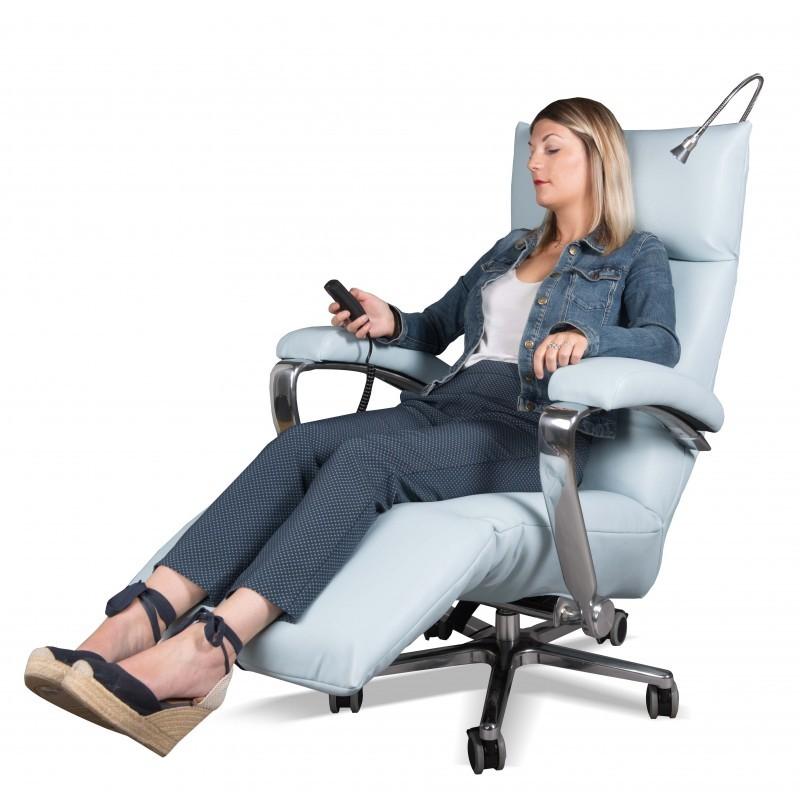 fauteuil de repos et de soins lectrique. Black Bedroom Furniture Sets. Home Design Ideas