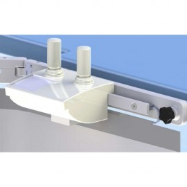 Bavolet Anti-X simple articulation avec rail porte accessoires